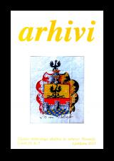 Arhivi, 2012, št. 2<br />Glasilo Arhivskega društva in arhivov Slovenije