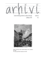 Arhivi, 2018, št. 2<br />Glasilo Arhivskega društva in arhivov Slovenije<br />Arhivi, 2018, no. 2<br />The Gazette of the Archival Association and Archives of Slovenia