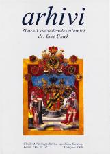 Arhivi, 1999, št. 1-2<br />Zbornik ob sedemdesetletnici dr. Eme Umek<br />Glasilo Arhivskega društva in arhivov Slovenije