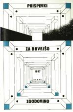Prispevki za novejšo zgodovino, 1987, št. 1-2