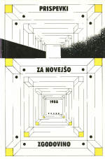 Prispevki za novejšo zgodovino, 1988, št. 1-2