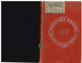 Popotnikov koledar za slovenske učitelje 1892<br />S popolnim imenikom šolsk. oblastnij, učiteljišč, ljudskih šol in učiteljskega osobja po Južno-Štirskem, Kranjskem, Primorskem in slo. delu Koroškega po stanju v začetku šolskega leta 1891/92