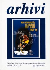 Arhivi, 1997, št. 1-2<br />Glasilo Arhivskega društva in arhivov Slovenije