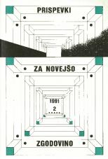 Prispevki za novejšo zgodovino, 1991, št. 2