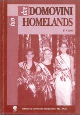 Dve domovini / Two Homelands, 2003, št. 17