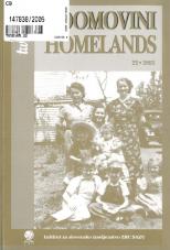 Dve domovini / Two Homelands, 2005, št. 22