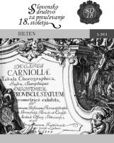 Bilten, 2011, št. 3<br />Slovensko društvo za preučevanje 18. stoletja