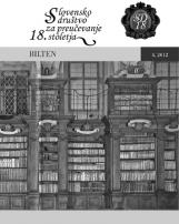 Bilten, 2012, št. 4<br />Slovensko društvo za proučevanje 18. stoletja