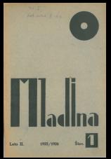 Mladina, 1925, št. 1<br />Mladina/Youth, 1925, no. 1