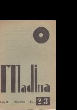 Mladina, 1925, št. 2/3<br />Mladina/Youth, 1925, no. 2/3