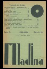 Mladina, 1925, št. 8/9<br />Mladina/Youth, 1925, no. 8/9