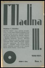 Mladina, 1926, št. 1
