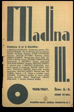 Mladina, 1926, št. 2/3