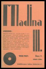 Mladina, 1926, št. 7