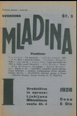 Svobodna mladina, 1928, št. 3