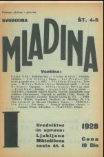 Svobodna mladina, 1928, št. 4/5