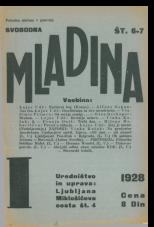 Svobodna mladina, 1928, št. 6/7