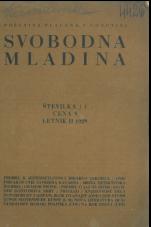 Svobodna Mladina, 1929, št. 1
