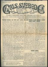 Glas svobode 1923 št. 13<br />Glasilo Nezavisne delavske stranke Jugoslavije
