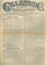 Glas svobode 1923 št. 17<br />Glasilo Nezavisne delavske stranke Jugoslavije