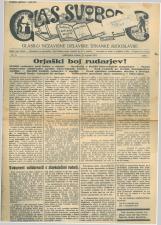 Glas svobode 1923 št. 19<br />Glasilo Nezavisne delavske stranke Jugoslavije