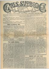 Glas svobode 1923 št. 24<br />Glasilo Nezavisne delavske stranke Jugoslavije