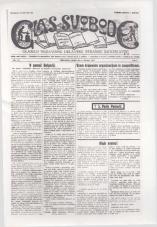 Glas svobode 1923 št. 25<br />Glasilo Nezavisne delavske stranke Jugoslavije
