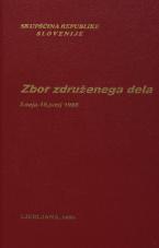 Sejni zapisi Skupščine Socialistične republike Slovenije za 10. sklic (1986-1990), št. zvezka   2<br />Zbor združenega dela,  3. seja (18. junij 1986)