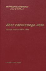 Sejni zapisi Skupščine Socialistične republike Slovenije za 10. sklic (1986-1990), št. zvezka   9<br />Zbor združenega dela,  10. seja (24. december 1986)