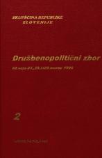 Sejni zapisi Skupščine Socialistične republike Slovenije za 10. sklic (1986-1990), št. zvezka 125, knjiga 2<br />Družbenopolitični zbor - nadaljevanje seje,  50. seja (28. marec 1990)<br />Družbenopolitični zbor - nadaljevanje seje,  50. seja (29. marec 1990)