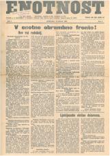 Enotnost, 1926 št. 07