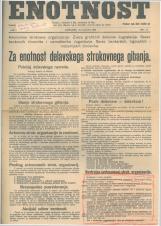 Enotnost, 1926 št. 11