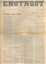 Enotnost, 1926 št. 14