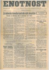 Enotnost, 1927 št. 02