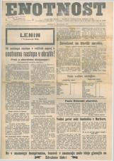 Enotnost, 1927 št. 03