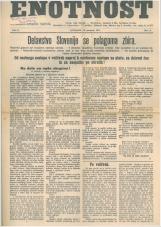 Enotnost, 1927 št. 04