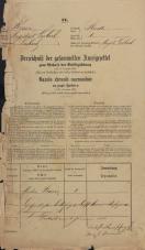 Popis prebivalstva 31. 12. 1869<br />Ljubljana<br />Mesto 1<br />Population census 31 December 1869
