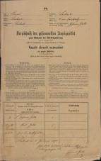 Popis prebivalstva 31. 12. 1869<br />Ljubljana<br />Mesto 2<br />Population census 31 December 1869