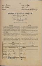 Popis prebivalstva 31. 12. 1869<br />Ljubljana<br />Mesto 26<br />Population census 31 December 1869