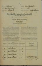 Popis prebivalstva 31. 12. 1869<br />Ljubljana<br />Mesto 53<br />Population census 31 December 1869