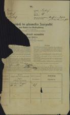 Popis prebivalstva 31. 12. 1869<br />Ljubljana<br />Mesto 57<br />Population census 31 December 1869