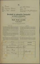 Popis prebivalstva 31. 12. 1869<br />Ljubljana<br />Mesto 59<br />Population census 31 December 1869
