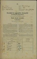 Popis prebivalstva 31. 12. 1869<br />Ljubljana<br />Mesto 65<br />Population census 31 December 1869