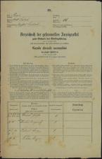 Popis prebivalstva 31. 12. 1869<br />Ljubljana<br />Mesto 66<br />Population census 31 December 1869