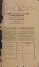 Popis prebivalstva 31. 12. 1869<br />Ljubljana<br />Mesto 101<br />Population census 31 December 1869