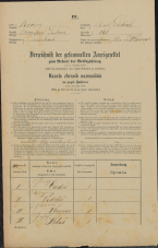 Popis prebivalstva 31. 12. 1869<br />Ljubljana<br />Mesto 141<br />Population census 31 December 1869