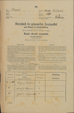 Popis prebivalstva 31. 12. 1869<br />Ljubljana<br />Mesto 150<br />Population census 31 December 1869