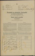 Popis prebivalstva 31. 12. 1869<br />Ljubljana<br />Mesto 154<br />Population census 31 December 1869