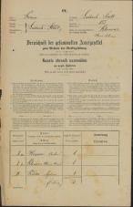 Popis prebivalstva 31. 12. 1869<br />Ljubljana<br />Mesto 155<br />Population census 31 December 1869