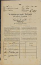 Popis prebivalstva 31. 12. 1869<br />Ljubljana<br />Mesto 160<br />Population census 31 December 1869